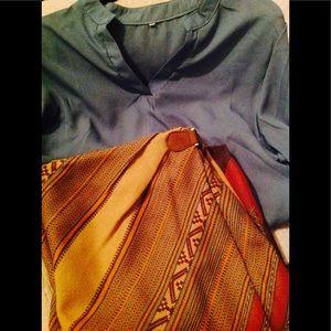 Ralph Lauren Polo Size 16 women's wrap skirt EUC